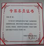 "title='<div style=""text-align:center;""> 中國化學與物理電源行業協會專家委員證書 </div>'"